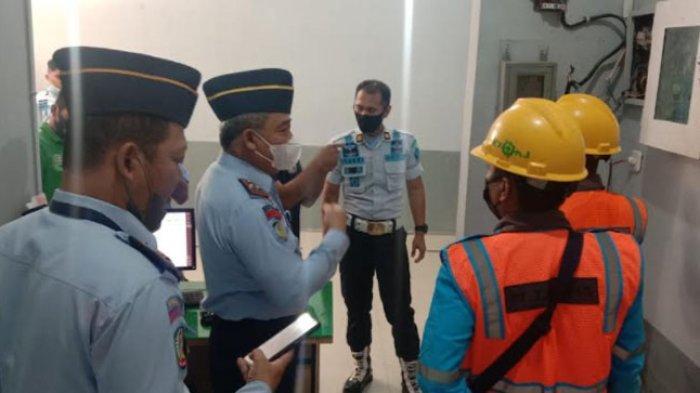 Rutan Kelas II B Majene Periksa Instalasi Listrik, Rasbil: Mencegah Kebakaran