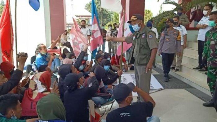 Kasatpol PP Mamasa, Welem Nyaris Buat Ricuh, Sebut Mahasiswa Unasman Orang Pinggiran