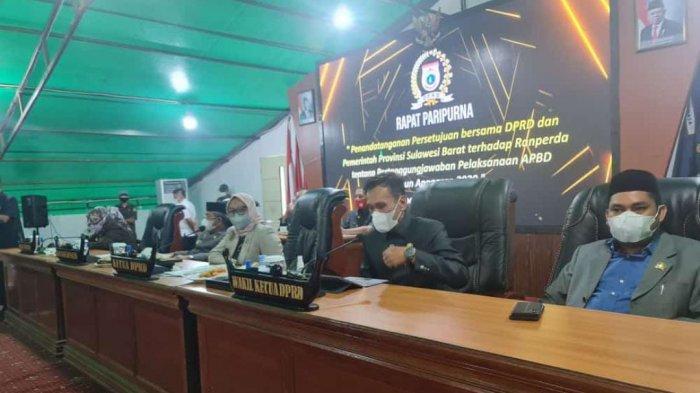 Sehari Sebelum Umumkan Dirinya Positif Covid, Suraidah Suhardi Ikut Rapat Bersama Gubernur Ali Baal