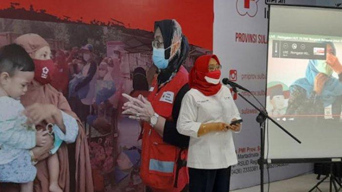 HUT ke-76 PMI, Anggraeni Anwar: PMI Sulbar Terus Bergerak dalam Misi Kemanusiaan
