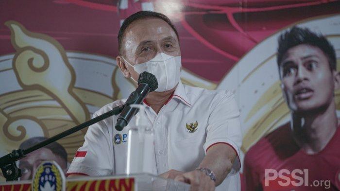 Ketua PSSI Mochamad Iriawan alias Iwan Bule