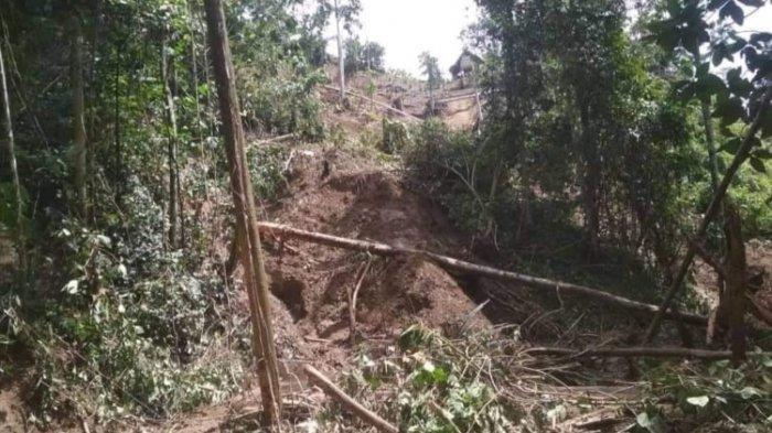 Sudah 12 Hari Terisolir, Warga Desa Pangandaran Mamasa Terancam Kelaparan