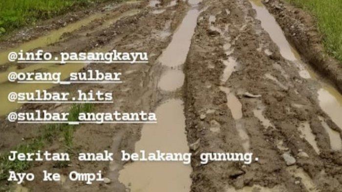 Warga Ompi Pasangkayu Keluhkan Jalan Rusak: Hasil Kebun Terbuang Sia-sia