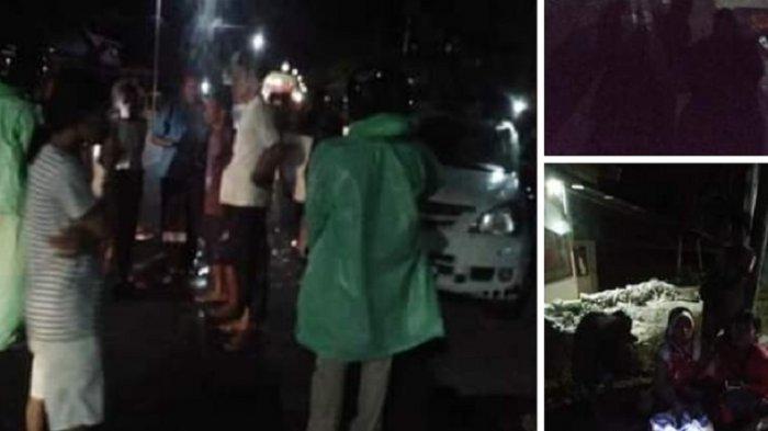 Polisi Selidiki & Cari Pelaku Adang Mobil Pengantin di Polman hingga Terbalik