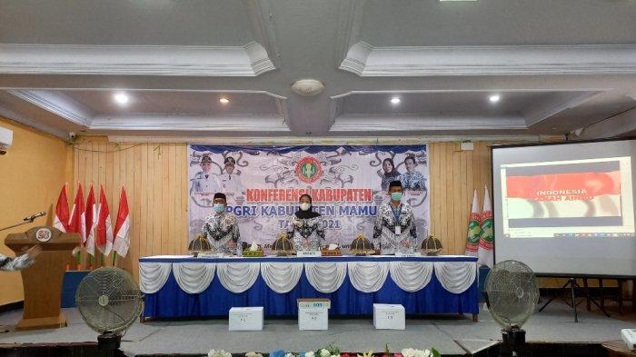 Konferkab PGRI Mamuju, Fokus Bahas Penuntasan Buta Huruf di Ibukota Provinsi