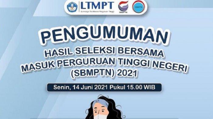 LINK Utama Pengumuman SBMPTN 2021 & 30 Link Mirror