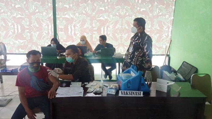Layanan Vaksinasi Kodim 1401 Majene Sudah Sasar 7.000 Warga
