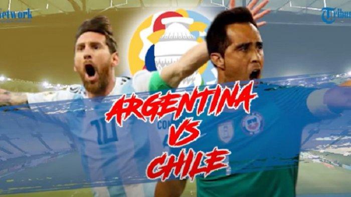 Link Live Streaming Indosiar Copa Amerika 2021 Argentina vs Chile, Live Pukul 04.00 WIB