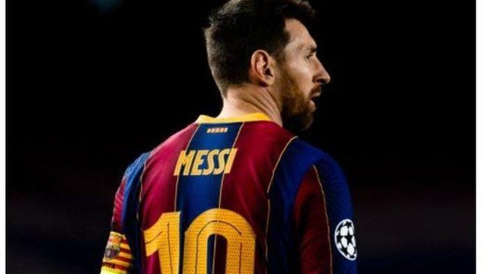 Lionel Messi saat masih memperkuat FC Barcelona. Kini dia berlabuh ke Paris Saint-Germain (PSG)