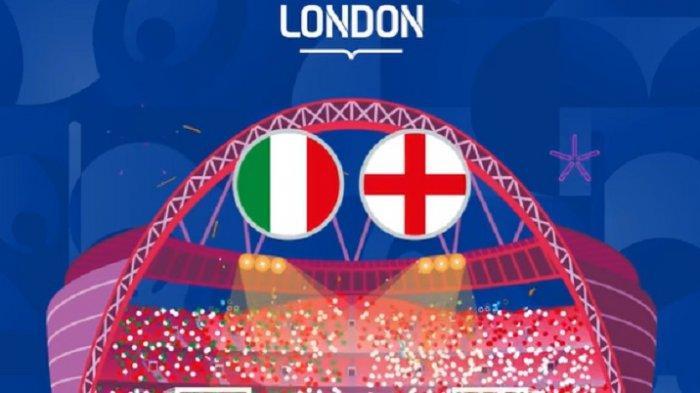 Link Live Streaming RCTI Italia vs Inggris di EURO 2020, Panduan Cara Nonton Live Mola TV