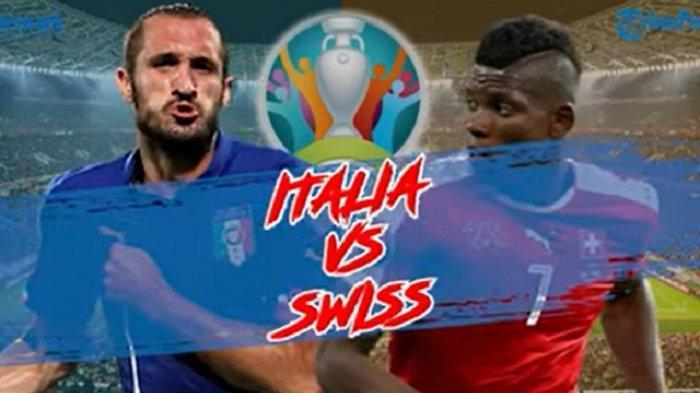 Link Live Streaming TV Online Italia vs Swiss di EURO 2020, Live RCTI Pukul 02.00 WIB