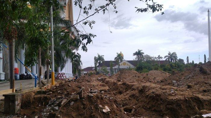 Pembangunan Tribun Pancasila, Pemkab Polman Bakal Pakai Atap Membran dari Swedia