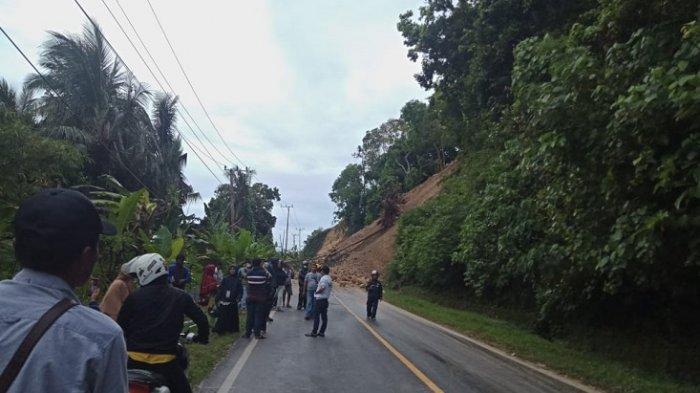 BREAKING NEWS: Longsor di Lombo'na Desa Tubo Tengah Majene