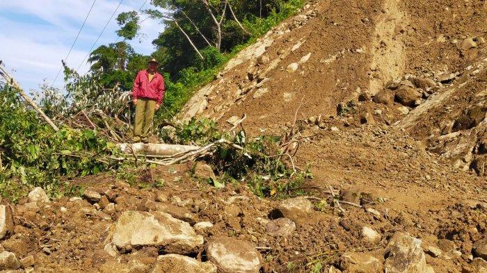 Aliran Listrik Lima Desa di Ulumanda Majene Juga Padam Akibat Longsor