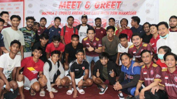 Persiapkan Atlet Menuju PON Papua, Mapala E-Sport Launching Jersey Bersama Pemain PSM