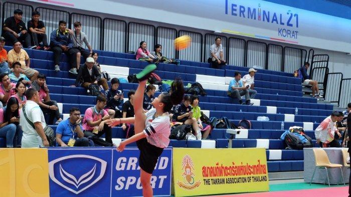 Sederet Prestasi Maria Ulfa, Atlet Takraw Wanita Sulbar, Juara 1 Pra PON 2019 di Sulsel