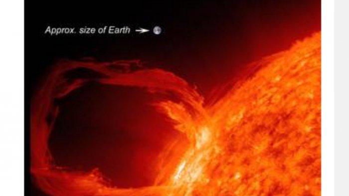 Badai Matahari Sekali Dalam Satu Abad: Berdampak Pada