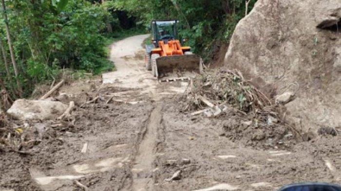 ALHAMDULILLAH, Akses Jalan ke 5 Desa di Kecamatan Ulumanda Sudah Tembus