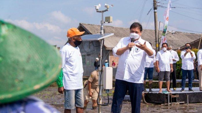 Menko Airlangga Dukung Smart Farming Petani Milenial untuk Peningkatan Produktivitas