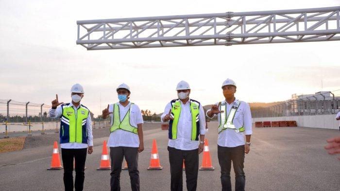 Jelang WSBK 2021, Menko Airlangga Tinjau Kesiapan Mandalika International Street Circuit