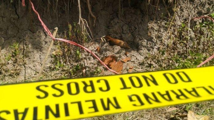 Warga Temukan Mortir Diduga Peninggalan Belanda di Majene
