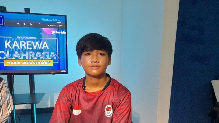 Profil Muhammad Zikri Atlet Renang Muda Mamuju