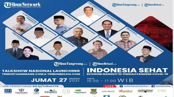 Menteri, Kadin & Kepala Daerah Isi Talkshow Launching TribunBekasi.com-Tribuntangerang.com