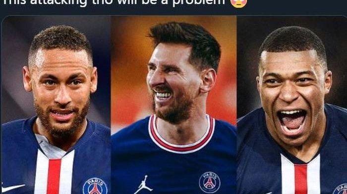 Kehadiran Messi Ciptakan Trio Eminem di Paris Saint-Germain, Pencetak Hampir 200 Gol di LC
