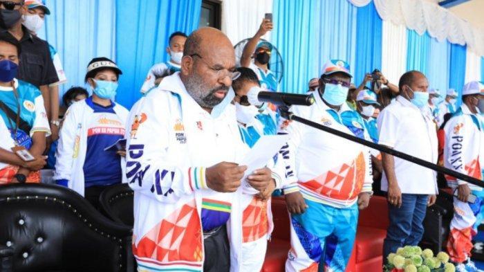 Gubernur Lukas Enembe Akan Beri Bonus 1 Miliar Buat Atlet Papua Peraih Emas di PON