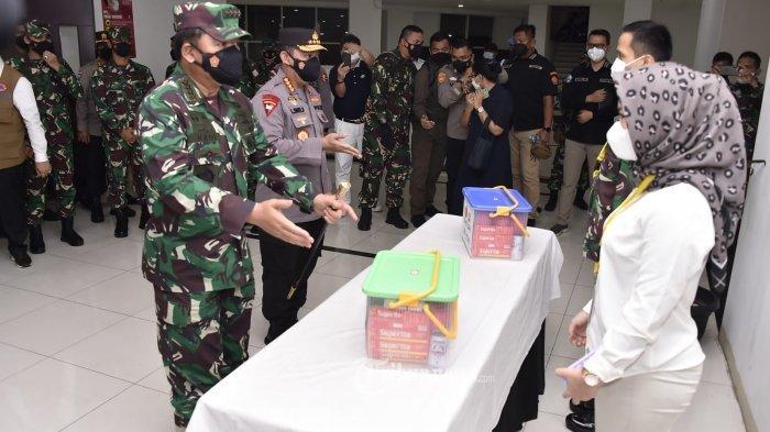 Relawan Nakes Covid-19, Annisa Rizkika Tak Kuasa Tahan Tangis Setelah Diangkat Jadi Prajurit TNI