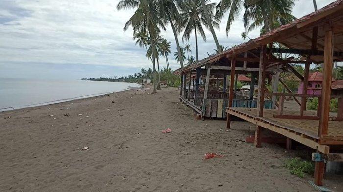 Wisata Pantai Lombang Lombang Mamuju Tak Terurus, Dulu Suhardi Duka Sering Berkunjung
