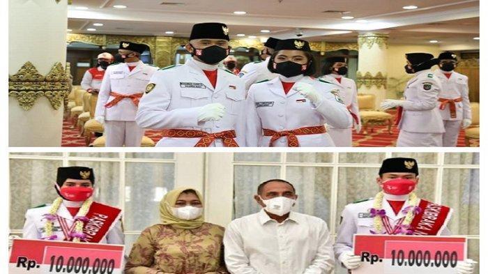 BEDA Nasib Wakil Sulbar, Gubernur Sumut Sambut Paskibraka Bak Pahlawan & Beri Uang Rp 10 Juta