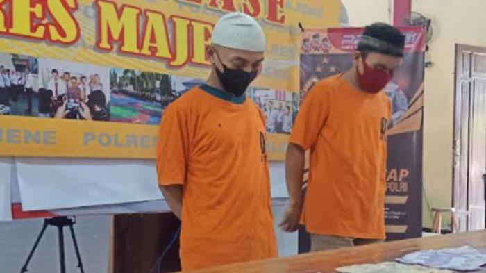 Polres Majene Amankan Dua Pengeder Pil Boje, Sita Puluhan Ribu Butir