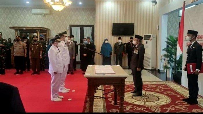 Andi Achmad Syukri Tammalele - Aris Munandar Resmi Jadi Bupati Wakil Bupati Majene