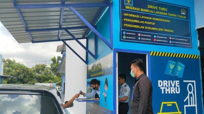 Permudah Pengurusan Paspor dan Izin Tinggal, Kantor Imigrasi Mamuju Buka Layanan Drive Thru