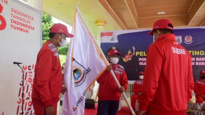 Gubernur Ali Baal Masdar Minta Atlet dari 8 Cabor Kontingen Sulbar Jaga Sportivitas di PON Papua