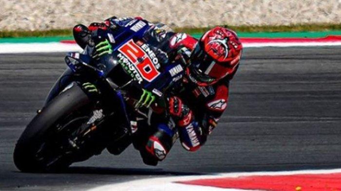 Jadwal MotoGP Inggris 2021, Optimisme Tinggi Fabio Quartararo, Tonton Live Trans7
