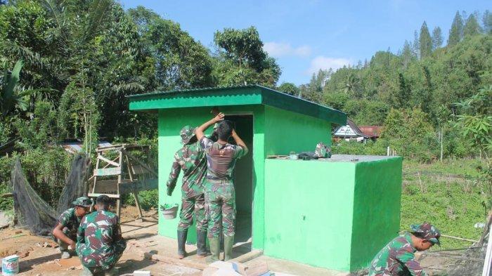 Pembangunan MCK Program TMMD Kodim Mamasa Hampir Rampung