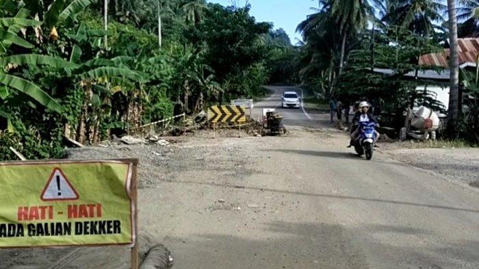 Arus Lalu Lintas Jalan Trans Sulawesi di Onang Majene Lancar Hari Ini