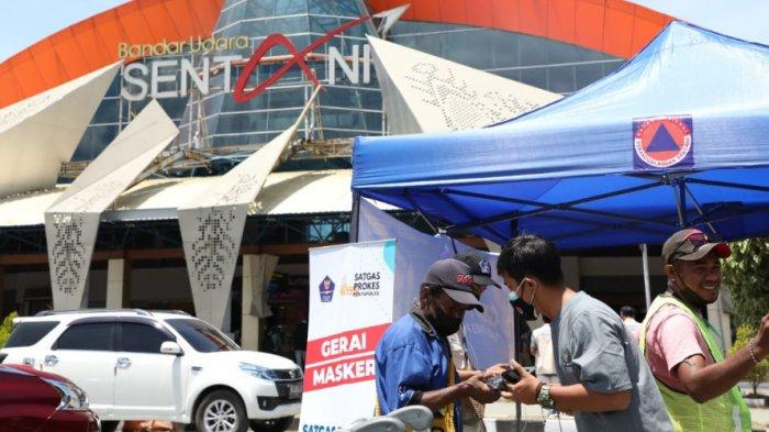 Pemerintah Terus Mendorong Penerapan Prokes Pada PON Papua 2021, Bagikan 10 Ribu Masker