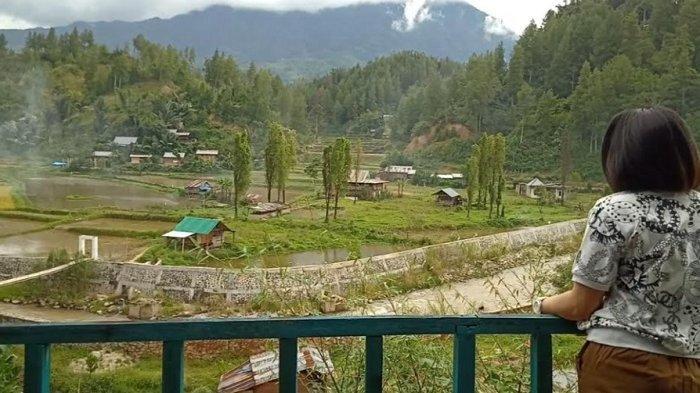 Nikmatnya Kopi Kampung di Pondok Blue Mamasa dengan Pemandangan Gunung Mambulling