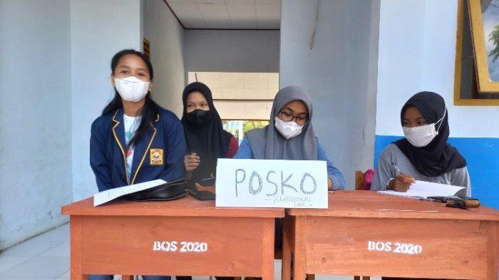 Osis SMPN 2 Mamuju Galang Dana Untuk Pelajar Terdampak Banjir Sondoang Kalukku