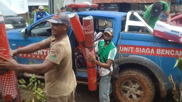 Warga Terdampak Bencana di Tabulahan Akhirnya Dapat Bantuan dari Pemda Mamasa
