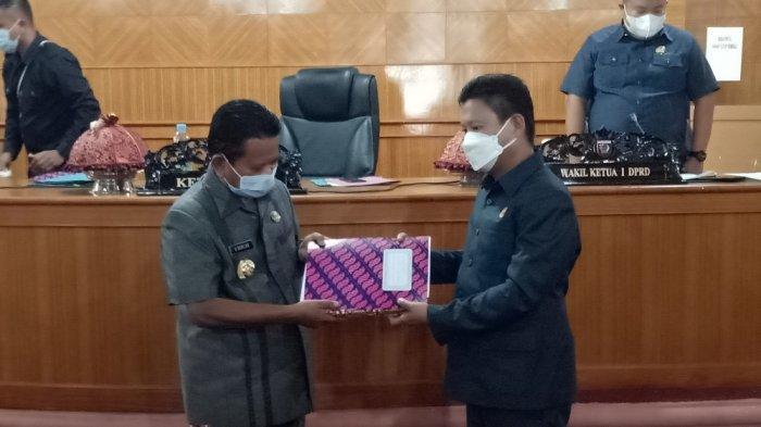 LPJ Pelaksanaan APBD 2020 Mamasa Ditolak Fraksi Gabungan PPP-Gerindra