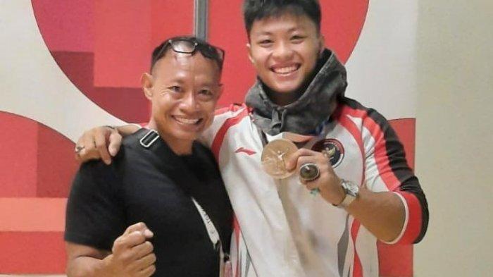 Kisah Dibalik Kesuksesan Rahmat Erwin Raih Medali Olimpiade, Latihan di Rumah Hingga Lantai Rusak