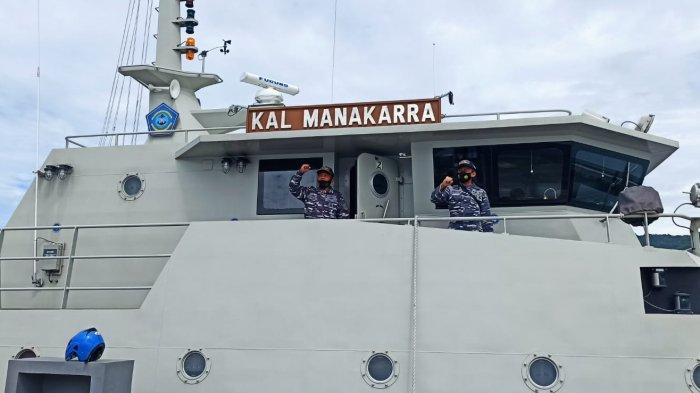 Dua Hari Sebelum Idul Adha, Kapal TNI AL Manakarra Tinggalkan Mamuju untuk Patroli Selama 70 Hari
