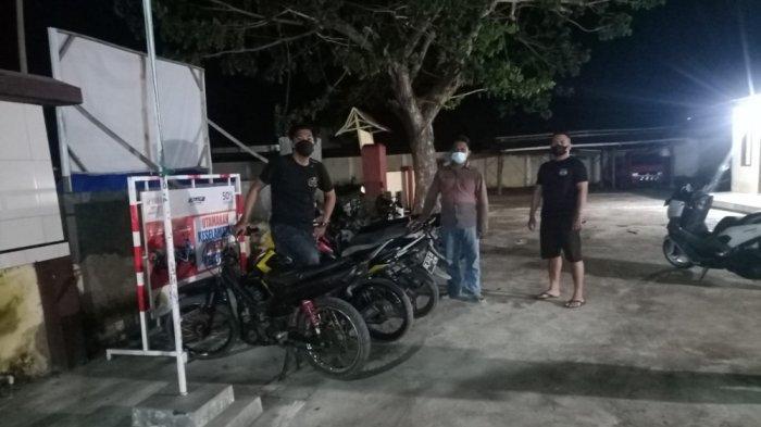 Bubarkan Aksi Balapan Liar, Petugas Gabungan Amankan 7 Sepeda Motor di Campalagian