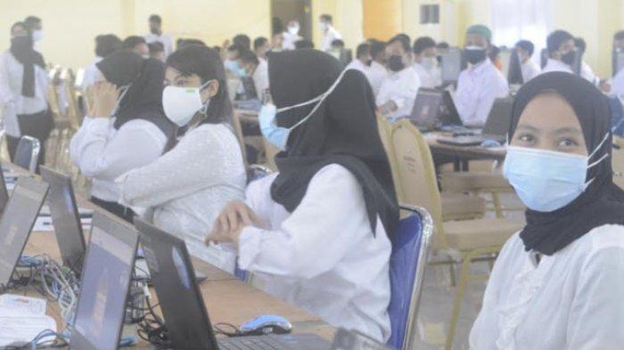 Hari Pertama SKD CPNS 2021 Pemprov Sulbar Selesai, Peserta: Jaringan Sempat Hilang