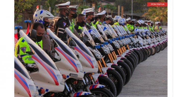 PON Papua ke 20 Akan Libatkan 9.986 Pasukan Keamanan