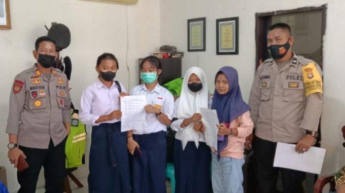 VIRAL 2 Siswi SMP di Polewali Mandar Berkelahi di Jalan, Kini Sudah Saling Memaafkan